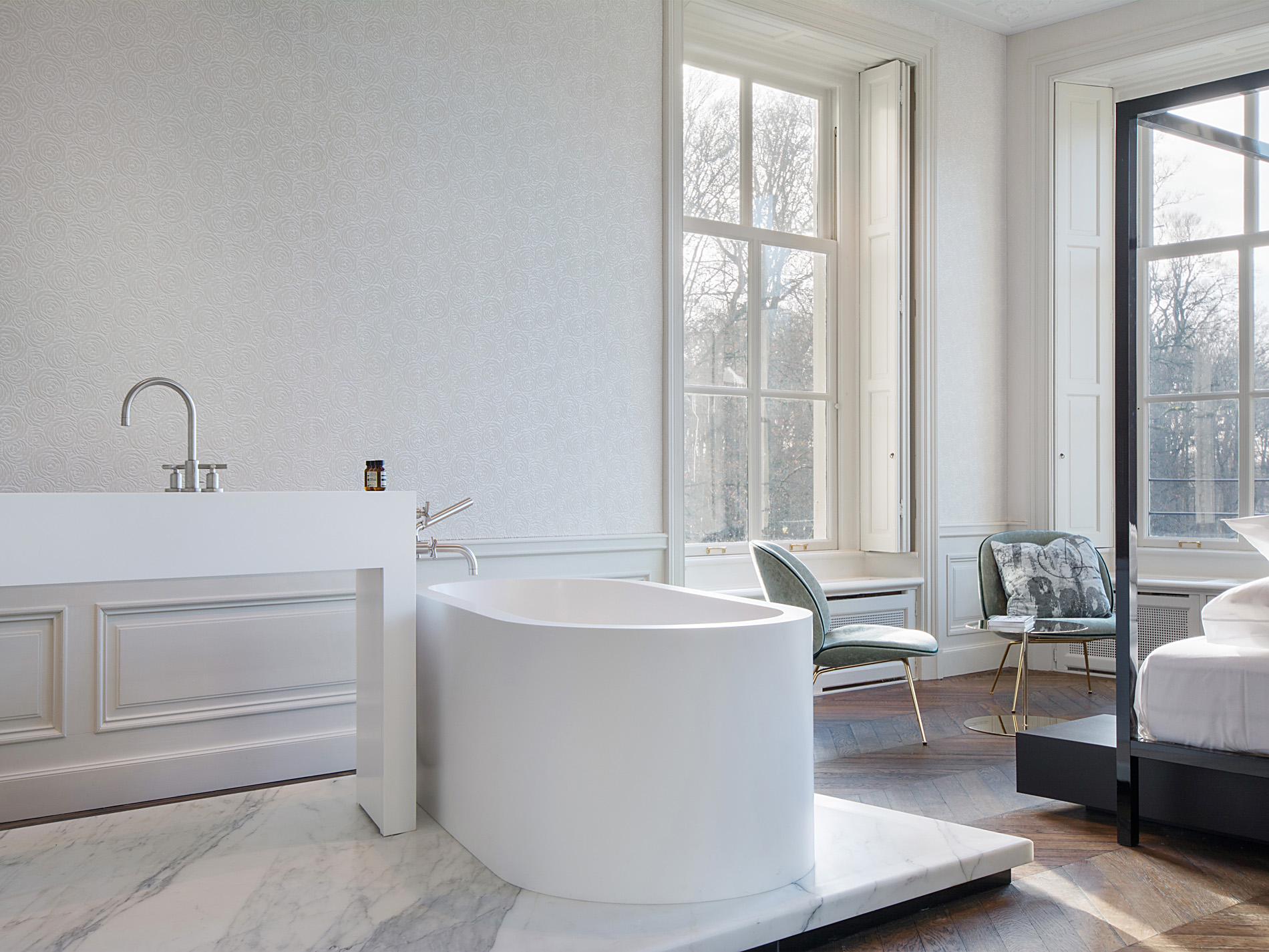 Commercial Bathroom • Hotel Parc Broekhuizen • Not Only White